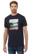 Animal Navy Camper Van Print T-shirt