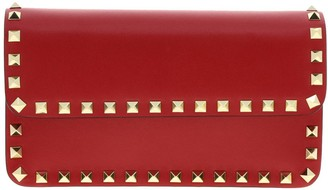 Valentino Rockstud Spike Bag In Leather With A Thin Shoulder Strap