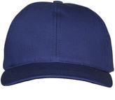 APC H Louis Gabardine Baseball Cap COBSL-H24031 Blue