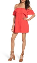 Privacy Please Women's Norval Off-The-Shoulder Minidress