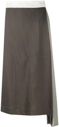 Peter Do Long Asymmetric Skirt