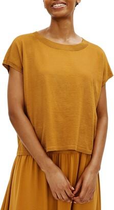 Eileen Fisher Organic Linen & Organic Cotton Sweater