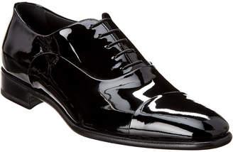 Santoni Patent Derby Shoe