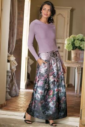 Petites Aster Floral Skirt