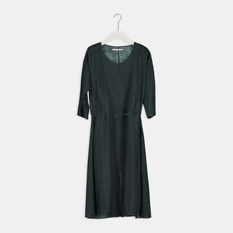 Humanoid Novah Dress - Rainforest - xsmall   khaki - Khaki