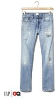 Gap x GQ Michael Bastian distressed slim jeans