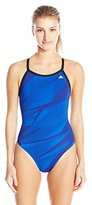 adidas Women's Shock Energy Vortex Back Performance One Piece Swimsuit