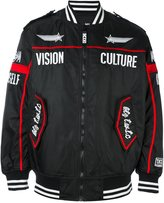 Kokon To Zai embroidered bomber jacket