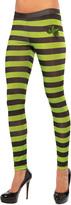 Rubie's Costume Co Green & Black Wicked Witch Leggings - Women