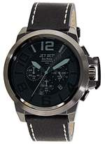 Jet Set Men's Watch San Remo Chronograph Quartz Black J6190B-267