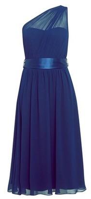 Dorothy Perkins Womens **Showcase Navy 'Jenni' Midi Skater Dress