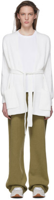 MAX MARA LEISURE White Cantore Cardigan
