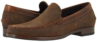 Trask Shane (Brown English Waxed Suede) Men's Shoes