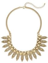 Punch Etched Statement Necklace