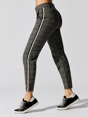 Sundry Plaid Clean Straight Trouser