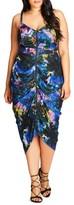 City Chic Plus Size Women's Zip Front Body-Con Dress