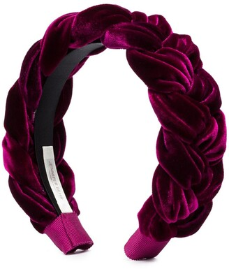 Jennifer Behr Lorelei braided headband