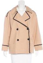 Fendi Embellished Double-Breasted Jacket