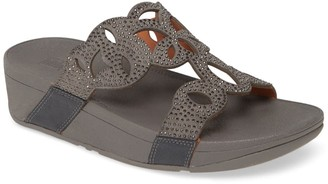 FitFlop Elora Crystal Wedge Sandal