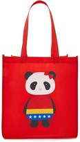 Forever 21 FOREVER 21+ Panda Graphic Tote Bag