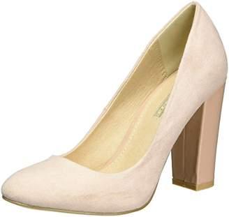 Buffalo David Bitton Shoes C354A-1 S0024K IMI SUEDE, Women's Closed-Toe Pumps, Pink (Pale 01), (36 EU)