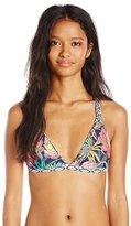 Body Glove Women's Wanderer Reversible Flare Halter Bikini Top