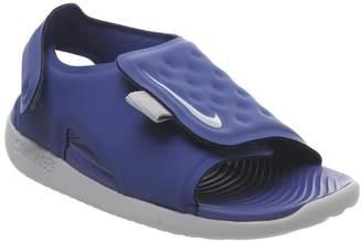 Nike Sunray Td Sandals Game Royal Wolf Grey