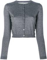 RED Valentino round neck cardigan - women - Silk/Polyamide/Cashmere - L