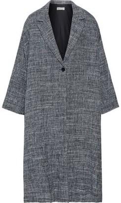 Masscob Willem Linen-blend Tweed Coat