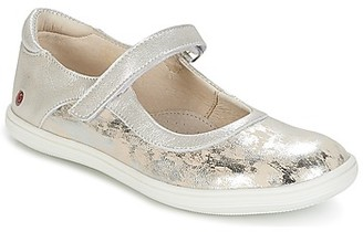 GBB PLACIDA girls's Shoes (Pumps / Ballerinas) in Silver