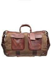 Will Leather Goods Men's Traveler Duffel Bag - Brown