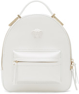 Versace White Mini Medusa Backpack