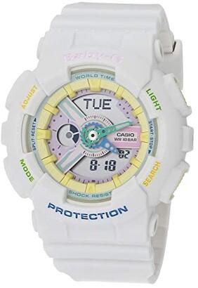 G-Shock BA110-7A (White) Watches