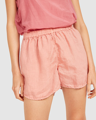 Primness - Women's Pink Shorts - Lin Shorts - Size One Size, 1 at The Iconic