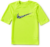 Nike Big Boys 8-20 Watercamo Dri-FIT Rashguard Short-Sleeve Shirt