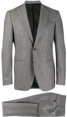 Tonello micro-check suit