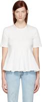 Edit White Godet T-shirt