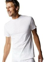 Hanes Men's White TAGLESS Crewneck Undershirt 5-Pack Men's Shirts