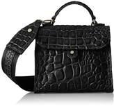 Liebeskind Berlin Glendale Itemcr, Women's Cross-Body Bag, Schwarz (Oil Black)