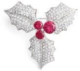 Nadri Women's Mistletoe Pin