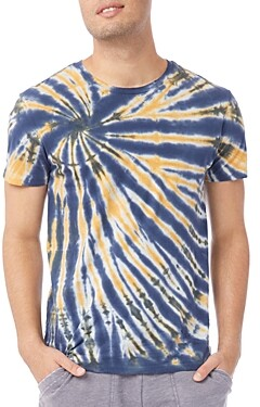 Alternative Cotton Tie Dyed Distressed Tee