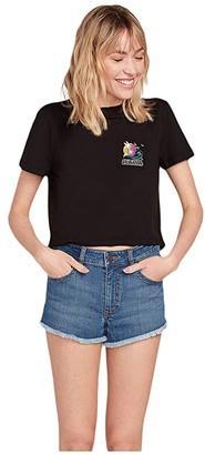 Volcom California Tee (Black) Women's T Shirt