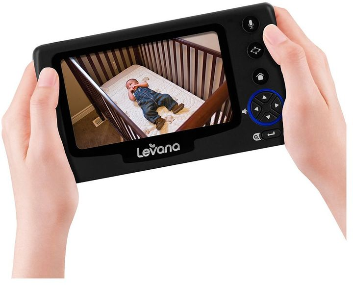 Levana Ovia Recording Video Baby Monitor