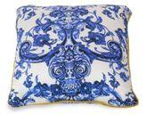 Roberto Cavalli Azulejos Printed Silk Bed Cushion