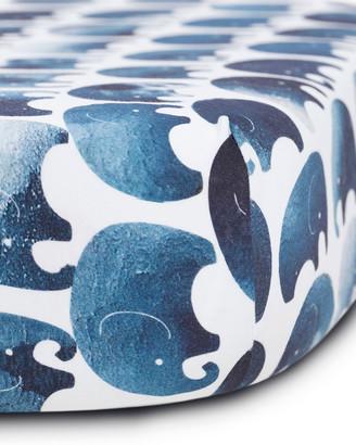 Oilo Studio Elephant Jersey Standard Crib Sheet