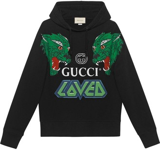 Gucci Cotton sweatshirt with tigers