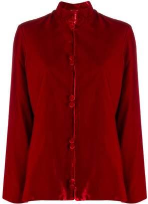 F.R.S For Restless Sleepers mandarin collar shirt