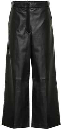 Joseph Tuba wide-leg leather pants