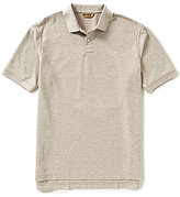 Roundtree & Yorke Gold Label Big & Tall Non-Iron Short-Sleeve Solid Polo