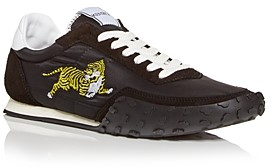 Kenzo Men's Tiger Embroidered Low Top Sneakers